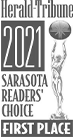 2021 Herald Tribune - Readers' Choice First Place