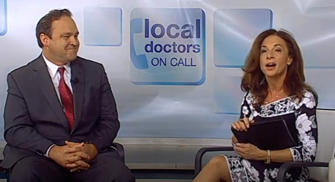 Dr. Mobley talking during interview