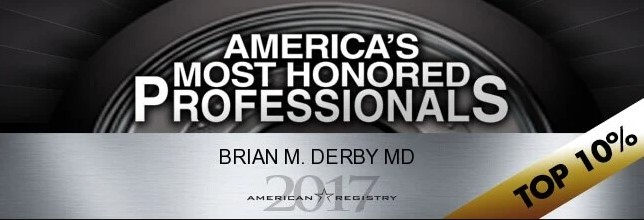 Dr. Derby american registery honor