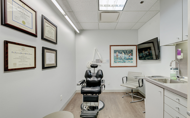 Patient exam room