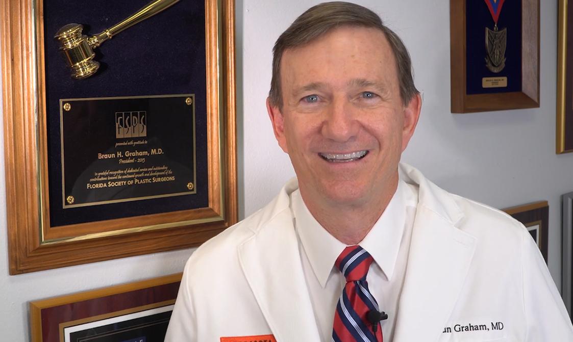 Dr. Graham smiling
