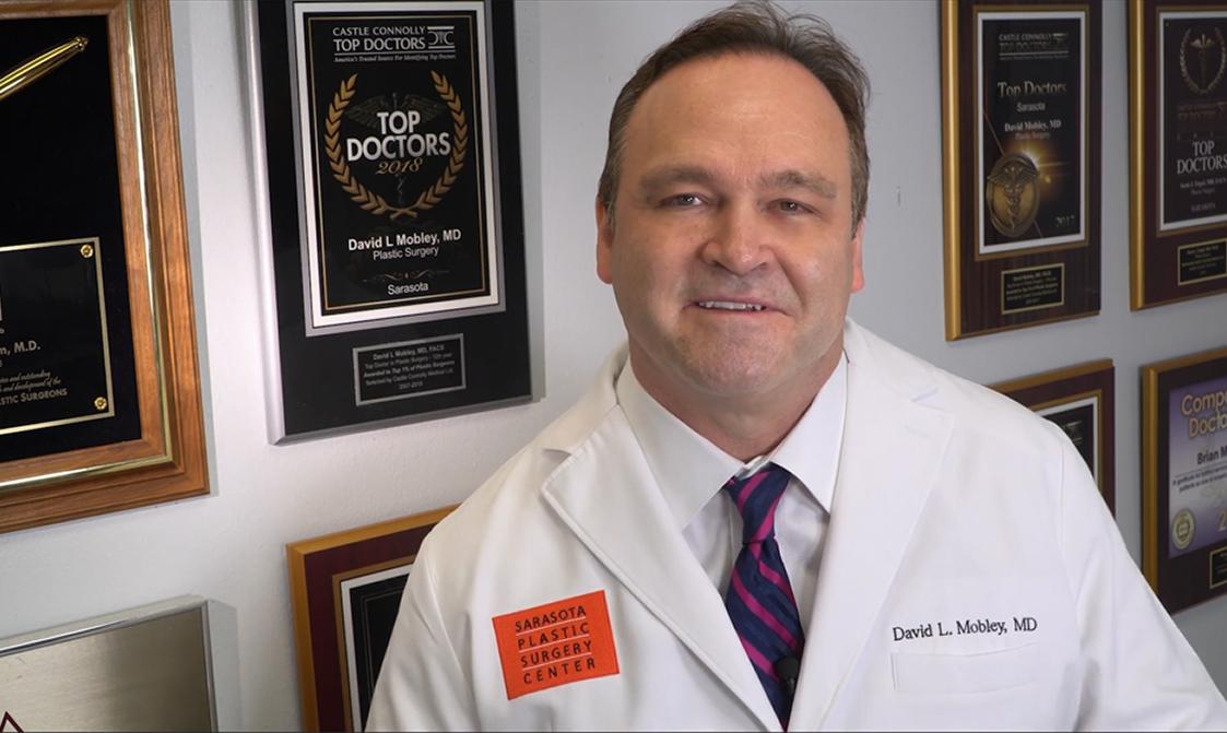 Dr. Mobley smiling