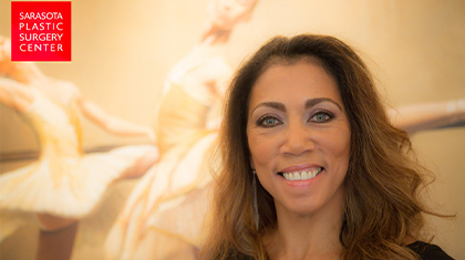 Patient Tania smiling